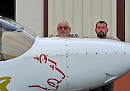 04/10/11 - ISSOIRE - PUY DE DOME - FRANCE - ISSOIRE AVIATION entreprise de Philippe MONIOT, leader Europeen de la production d avions de tourisme - Sur la photo, Philippe et son fils Jacques MONIOT - Photo Jerome CHABANNE