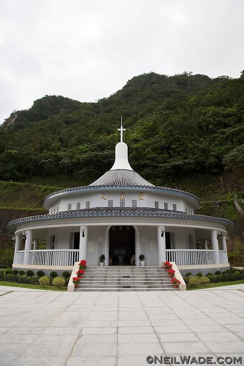The St. Maria Villa Catholic Church in Jiaosi, Taiwan.