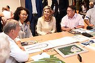 ZOETERMEER - Queen Maxima attends Wednesday, September 28th at the celebration of the tenth anniversary of the foundation Participation, Integration and Equality Zoetermeer (Piezo). Piezo focuses on people in vulnerable situations and gives them support in finding their way in society. From 2013 to 2015 Piezo participated in the Orange Fund Growth Program. COPYRIGHT ROBIN UTRECHT<br /> ZOETERMEER - Koningin Maxima woont woensdag 28 september de viering bij van het tienjarig bestaan van de stichting Participatie, Integratie en Emancipatie Zoetermeer (Pi&euml;zo). Pi&euml;zo richt zich op mensen in kwetsbare situaties en geeft hen ondersteuning bij het vinden van hun weg in de samenleving. Van 2013 tot 2015 nam Pi&euml;zo deel aan het Oranje Fonds Groeiprogramma. COPYRIGHT ROBIN UTRECHT