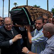 """Egyptian """"headscarf martyr"""" Buried"""