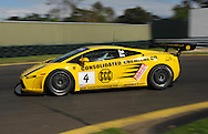 Ted Huglin & John Bowe.Lamborghini Gallardo.Motorsport/2008 Shannon Nationals.Australian GT Championship - Sandown GT Classic.Sandown International Raceway, Melbourne, Victoria.30th November 2008.(C) Joel Strickland Photographics.