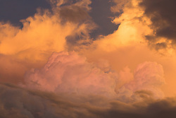 Wet season storm clouds over Broome's Roebuck Bay.