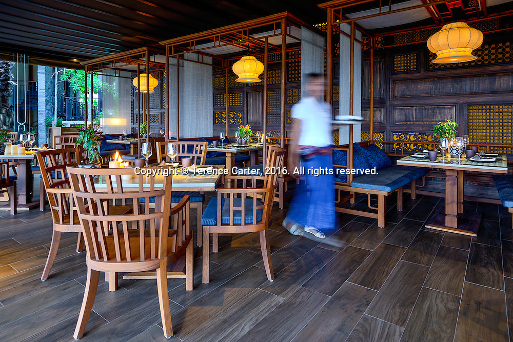 Dee Plee restaurant, Anantara Layan, Phuket, Thailand. Copyright 2016 Terence Carter / Grantourismo. All Rights Reserved.