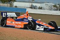 Charlie Kimball, Sebring test, 2/19/2013
