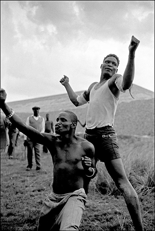 A Tribal Fight Champion (standing)