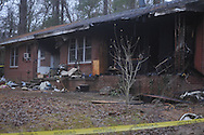 A  fire at 1109 South 14th Street in Oxford, Miss., on Thursday, January 20, 2011. The fire, reported about 12:30 a.m., claimed the life of Patricia K. Wilkerson.