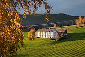 Norwegian farm houses