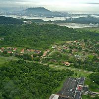 Aerial views of Veracruz and Howard area, soon to be Panama Pacific. Panama.
