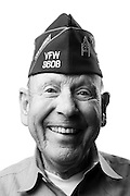 Donald R. Sampley<br /> Army<br /> E-9<br /> Infantry, Law Enforcement<br /> Mar. 1958 - July 1988<br /> Korea, Vietnam<br /> <br /> Veterans Portrait Project<br /> Louisville, KY<br /> VFW Convention <br /> (Photos by Stacy L. Pearsall)