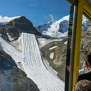 "Ride Bernina-Diavolezza lift for spectacular views of the Bernina Range. If not afraid of heights at Diavolezza, don't miss the scenic, rocky hike to Munt Pers which gains 265 meters over 2 km one way. Upper Engadine is in Graubünden (Grisons) canton, Switzerland, the Alps, Europe. The Swiss valley of Engadine translates as the ""garden of the En (or Inn) River"" (Engadin in German, Engiadina in Romansh, Engadina in Italian)."