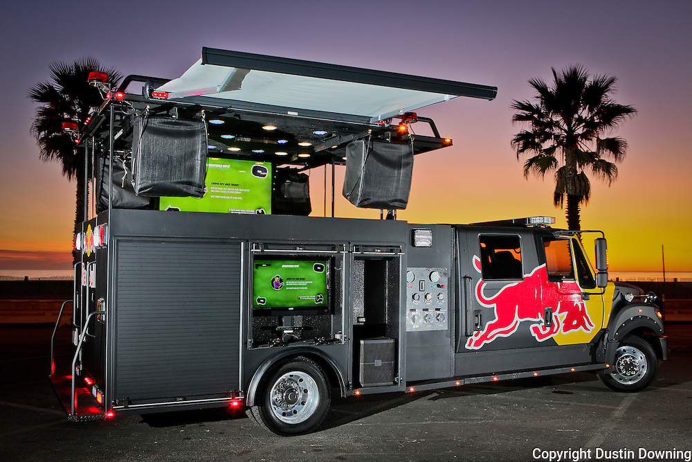 Red Bull Fire Engine on Internal Bustion Engine
