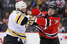 January 4, 2012: Boston Bruins at New Jersey Devils