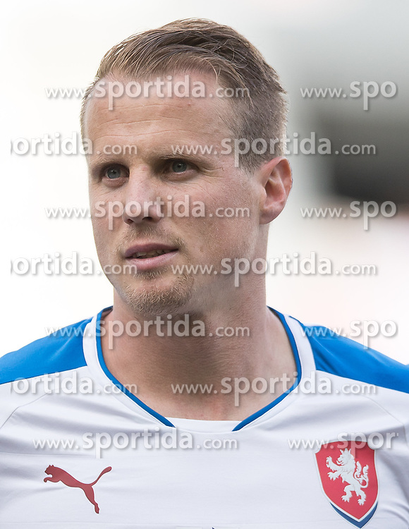 01.06.2016, Tivoli Stadion, Innsbruck, AUT, Testspiel, Tschechien vs Russland, im Bild David Limbersky (CZE) // David Limbersky (CZE) during the International Friendly Match between Czech Republic and Russia at the Tivoli Stadion in Innsbruck, Austria on 2016/06/01. EXPA Pictures © 2016, PhotoCredit: EXPA/ Johann Groder