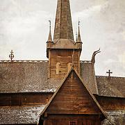 Stavkirker - Stave churches in Norway