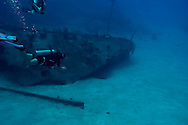 Survey of Bow, Oro Verde, Shipwreck, Grand Cayman