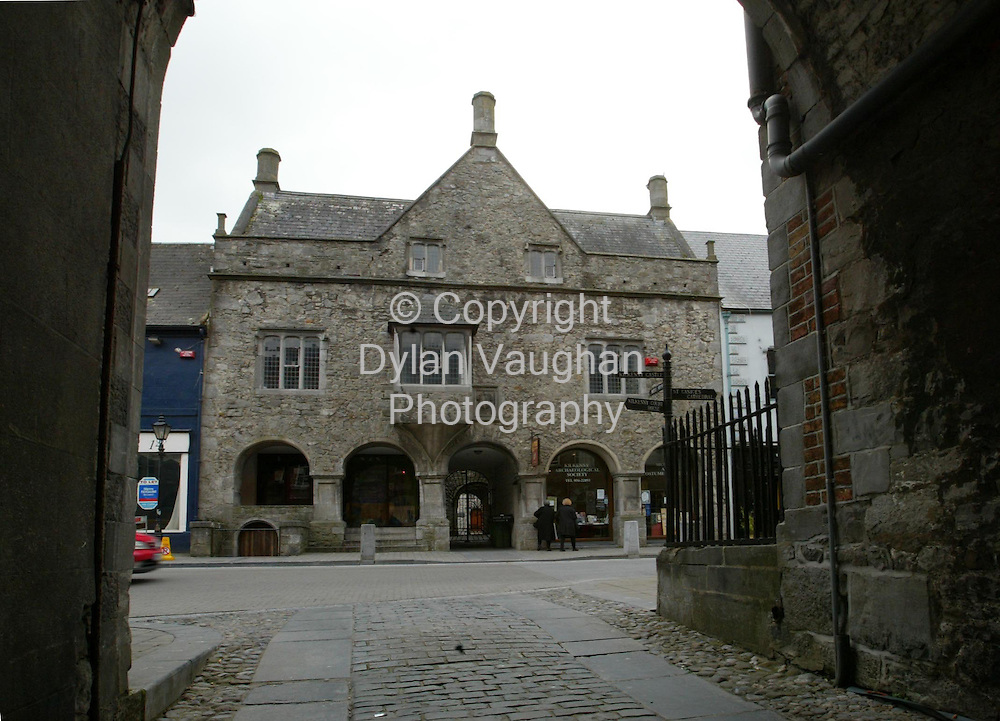 26/3/2004.Rothe House on Parliment Street Kilkenny. .Picture Dylan Vaughan
