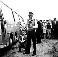 The Beatles 1967 Paul McCartney at start of Magical Mystery Tour..© Chris Walter..