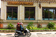 Starbucks outlet Ubud. Bali revisited January 2012.