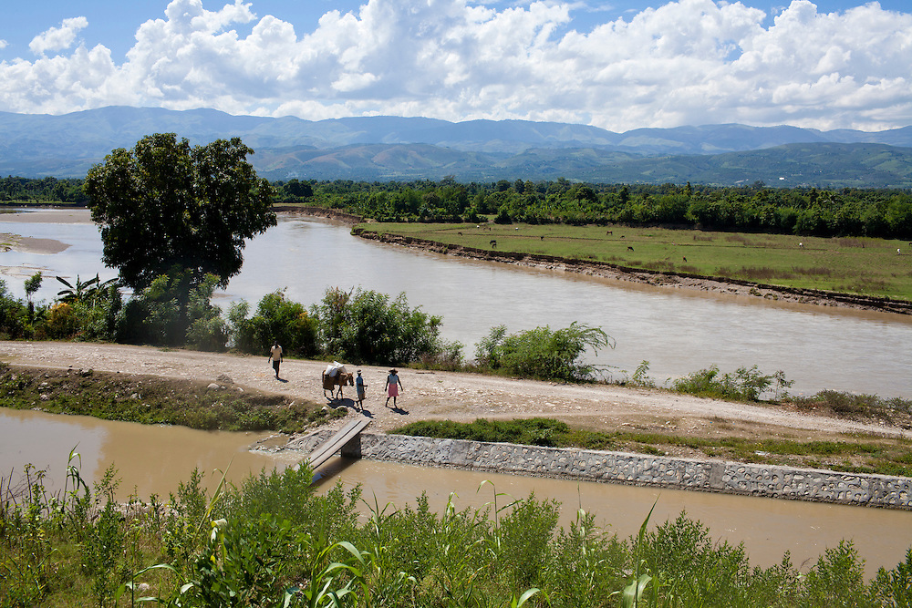 The Artibonite River, the source of the recent cholera outbreak, on Sunday, October 31, 2010 in Petite Riviere, Haiti.