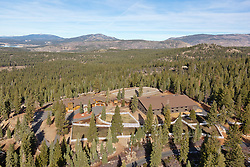 Aerial Real Estate Photography above Truckee, CA.