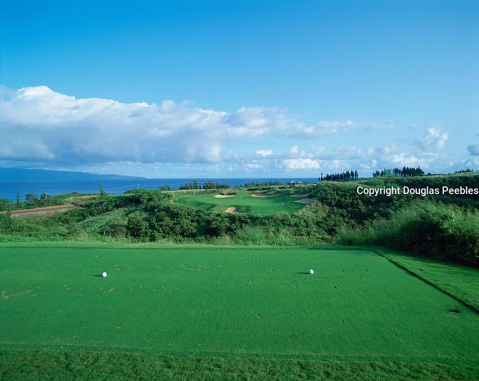 Kapalua golf course, Kapalua, Maui, Hawaii, USA<br />