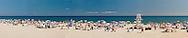 Fun at the Beach, Main Beach, East Hampton, NY, 2007, : 20x99