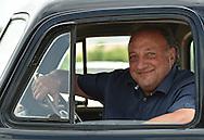 22/07/16 - CHAPPES - PUY DE DOME - FRANCE - Bruno RIGOLI directeur des etablissements AUTO FOLIES, specialiste de la vente de vehicules anciens - Photo Jerome CHABANNE