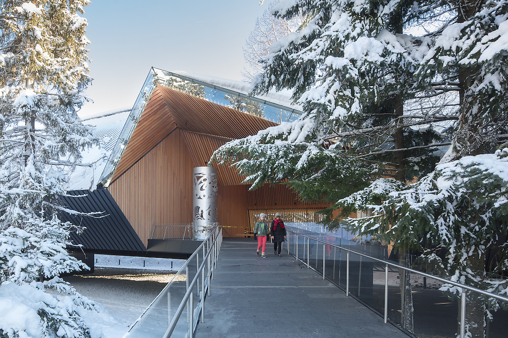 Audain Museum of Art, Whistler, British Columbia | Winter | Patkau Architects