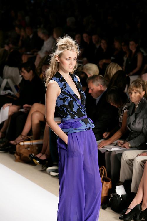 Peter Som<br /> Spring/Summer 2009 Collection<br /> Mercedes-Benz Fashion Week<br /> New York, NY, Sept 2008