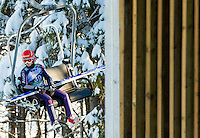 STRAUB Ramona of Germany during 11th Women FIS Ski Jumping World Cup competition in Planica replacing Ljubno  on January 25, 2014 at HS95, Planica, Slovenia. Photo by Vid Ponikvar / Sportida
