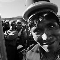 Bolivia - Potosi - protesta degli indios nella zona di potosi