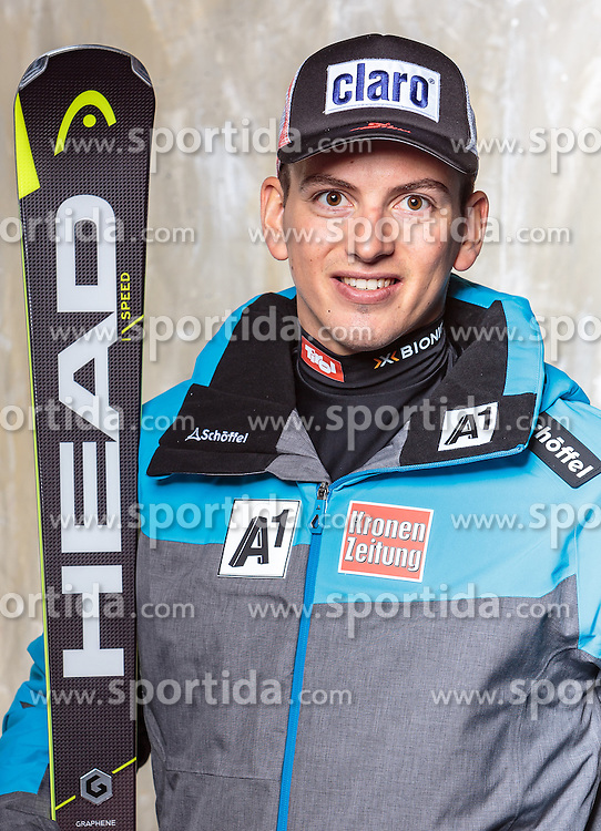 08.10.2016, Olympia Eisstadion, Innsbruck, AUT, OeSV Einkleidung Winterkollektion, Portraits 2016, im Bild Frederic Berthold, Ski Alpin, Herren // during the Outfitting of the Ski Austria Winter Collection and official Portrait Photoshooting at the Olympia Eisstadion in Innsbruck, Austria on 2016/10/08. EXPA Pictures © 2016, PhotoCredit: EXPA/ JFK