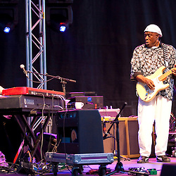 Buddy Guy performing at the Lowdown Hudson Blues Festival July 11, 2012,  NYC