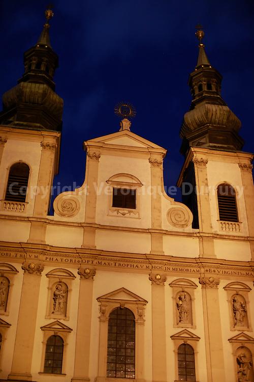 Jesuitenkirche, Vienna Cathedral, Austria // Jesuitenkirche, ancienne eglise des Jesuites,  Vienne, Austriche