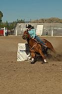 Barrel Racing, high school rodeo, Livingston, Montana