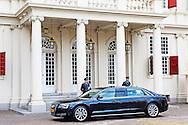 DEN HAAG - De nieuwe hofauto, een verlengde Audi A8 in Nederland gemaakt, van Koning Willem-Alexander . COPYRIGHT ROBIN UTRECHT