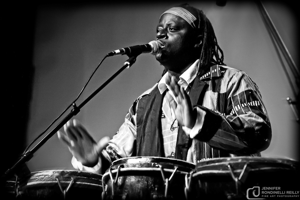 Oumar Sagna and Sindoolaa live at The Miramar Theater on 2/5/11. Photos by  Jennifer Rondinelli Reilly. All rights reserved. No use without permission.  Contact me for any reuse or licensing inquiries.