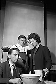 """1963 - Dublin Drama Festival production of """"Roots"""" at Damer Theatre for Gael Linn"""