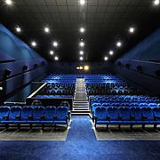 Cinema auditorium interior