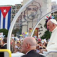 Pope Francis in Havana, Cuba