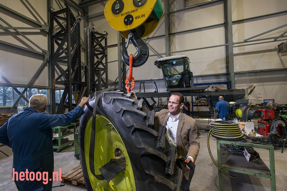 nederland, Almelo 03dec2014 Eelco Osse directeur van Machinefabriek Boessenkool in Almelo foto Cees Elzenga