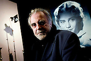 actor Maximilian Schell with a photography showing his sister Maria Schell | Frankfurt | 2007