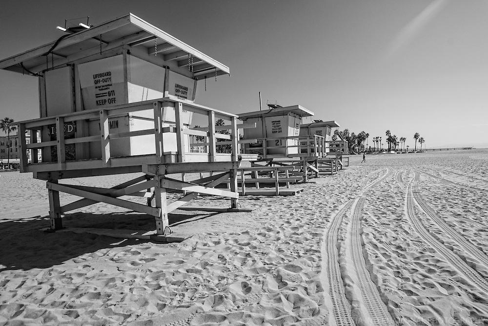Lifeguard Huts, Venice Beach