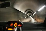 Going into the ground, to Nea hydropower plant, Tydal in Norway. Nea kraftverk ligger langt under bakken.