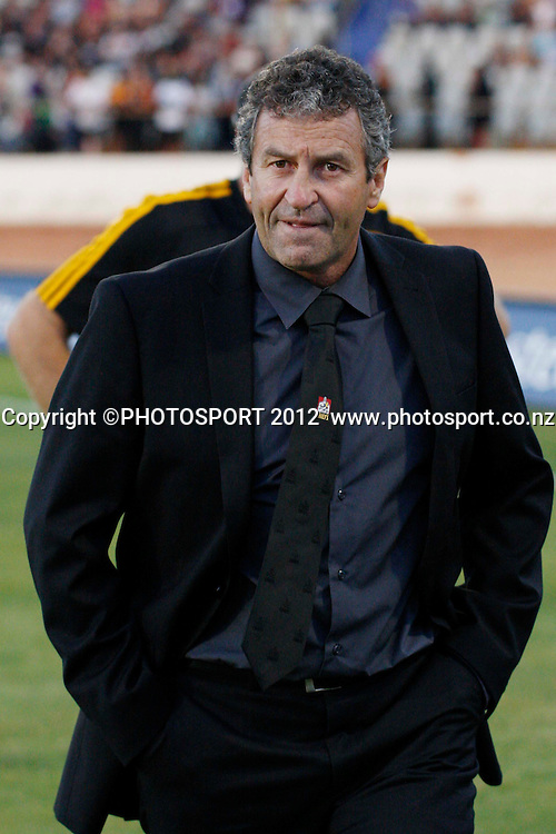 Chiefs Assistant Coach Wayne Smith during the pre-game before their game at Baypark Stadium, Mt Maunganui, New Zealand. Friday,16 March 2012. Photo: Dion Mellow/photosport.co.nz