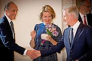 Prins Lorenz van België en prinses Astrid van België  Koningin Mathilde van België en Koning Philipp