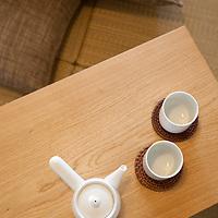 Interiors of show homes in the 'Muji Village' apartment block building in Tsudanuma, east Tokyo, Japan. Monday 26th April 2010.