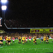 Australia 29 British Lions 23. third test 2001 Panorama images