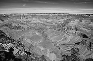 .A view from Mather Point on the South Rim of the Grand Canyon.