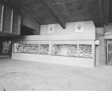 G.A.A. shop under Hogan Stand..21.12.1974  21st December 1974